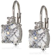 Nina 'Jonna' Cubic Zirconia Leverback Earrings