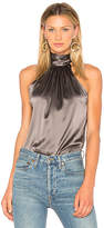 Ramy Brook Paige Tie Neck Tank in Gray. - size L (also in M,S,XS)