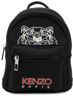 Kenzo tiger logo-print mini backpack