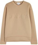 DKNY Sand Embossed Neoprene Sweatshirt