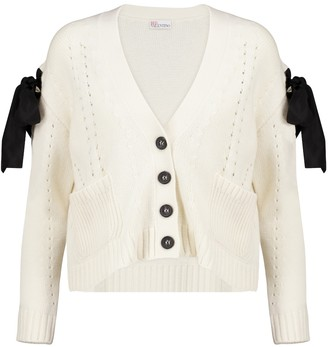 RED Valentino wool and cashmere-blend cardigan