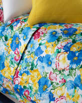 Ralph Lauren Home Twin 300TC Ashlyn Floral Flat Sheet