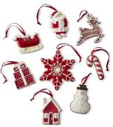 Williams-Sonoma Williams Sonoma Holiday Ornaments, Set of 8