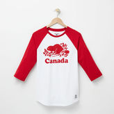 Roots Womens Cooper Canada Baseball T-shirt