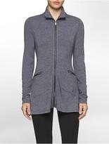 Calvin Klein Performance Heathered Jacket