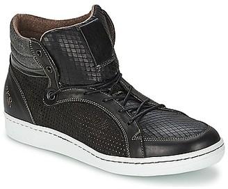 BKR LAST MAN men's Shoes (High-top Trainers) in Black