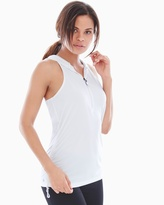Soma Intimates Activewear Hooded Tank White