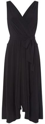 DKNY Occasion Wrap Hankerchief Dress