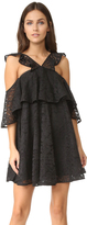 Cynthia Rowley Lace Trapeze Dress