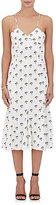 Victoria Beckham Women's Godet-Pleated Cami Dress