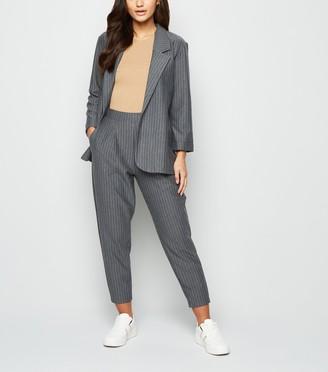 New Look Petite Light Pinstripe Trousers