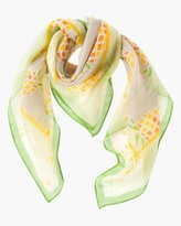 Chico's Penny Pineapple Scarf