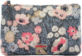 Cath Kidston Winfield Flowers Matt Zip Make up Bag