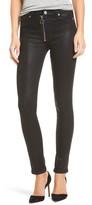 Hudson Women's Barbara High Waist Skinny Faux Leather Pants