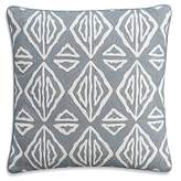 Cupcakes And Cashmere Moroccan Geo Crewel Decorative Pillow, 18 x 18