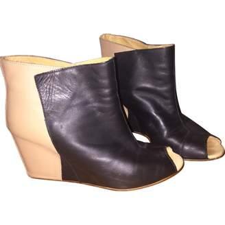 Maison Margiela Camel Ankle boots