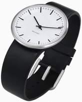 Rosendahl Arne Jacobsen City Hall Unisex Watch 43441 with Black Calf Skin Strap (Medium)