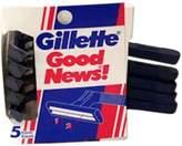 Gillette Good News Razor Blades 5 In 1 Pack