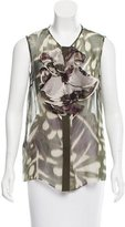 Giambattista Valli Silk Sleeveless Top
