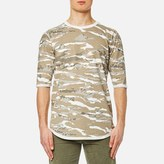 MHI Men's Reversible Camo TShirt - Naturale