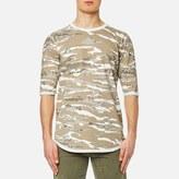 Maharishi Reversible Camo Tshirt - Naturale