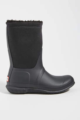 Hunter Boots Roll Top Sherpa Rain Boots