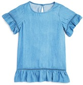 Aqua Girls' Ruffle Trim Top - Sizes S-XL