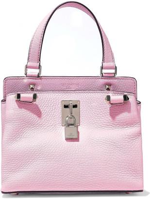 Valentino Joylock Small Textured-leather Shoulder Bag