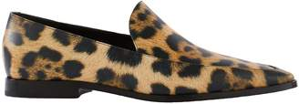 Dries Van Noten Animal print loafers