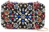 Alice + Olivia Alice+Olivia - crystal embellished clutch - women - Polyester - One Size