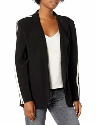 Norma Kamali Women's Side Stripe Single Breasted Jacket