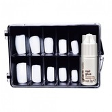 Manicare Glam Nails, Glue On Nails 100 pack