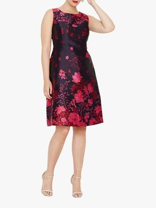 Studio 8 Heidi Jacquard Dress, Multi/Pink