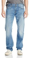 True Religion Men's Ricky with Flap Relaxed Straight Jean in