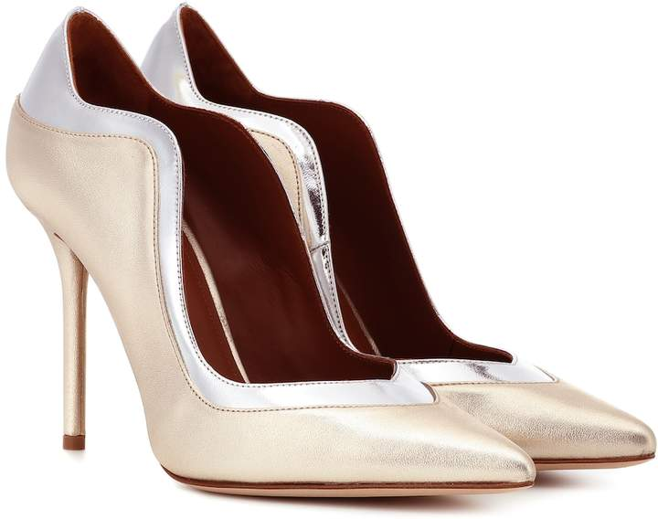 Malone Souliers Penelope 100 leather pumps