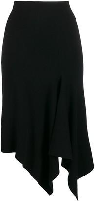 Dvf Diane Von Furstenberg Asymmetric Midi Skirt