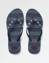 Fat Face South Beaded Thong Flip Flops