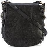 Campomaggi studded boho crossbody bag - women - Leather - One Size