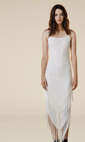 Again Collection - Abba Fringe Dress in White