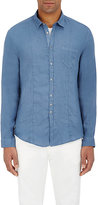 John Varvatos Men's Linen Shirt