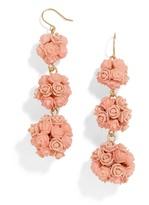 BaubleBar Floral Crispin Ball Drop Earrings