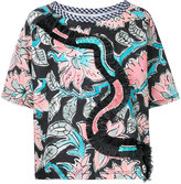 Antonio Marras floral print shortsleeved blouse