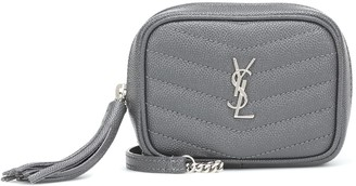 Saint Laurent Lou Camera Micro leather crossbody bag
