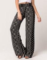 SKY AND SPARROW Large Diamond Womens Wide Leg Pants