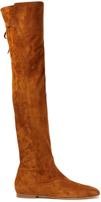 Gabriela Hearst Suede Over-the-knee Boots
