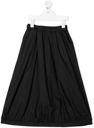 Mi Mi Sol elasticated waist A-line skirt