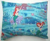 SheetWorld Percale Twin Pillow Case - Little Mermaid - Made In USA
