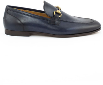 Gucci Jordaan Blu Loafer