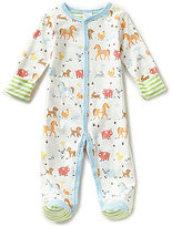 Starting Out Baby Boys Preemie-6 Months Animal-Print Footed Coveralls