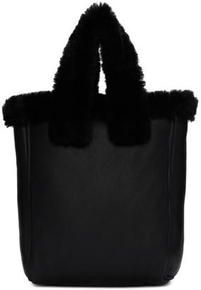 YMC Black Leather Tote